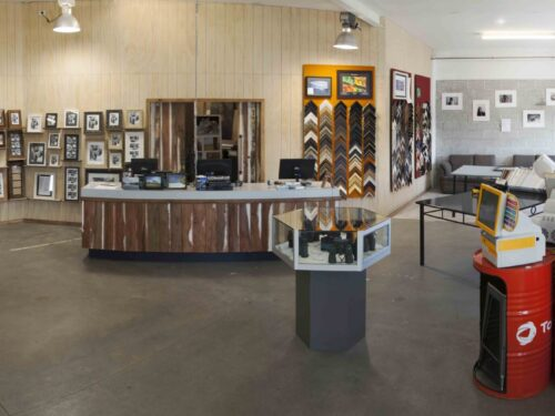 The showroom at Imageland, 55 Lake Rd in Frankton