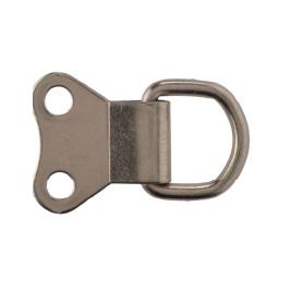 Heavy Duty Brass D Ring 2 Hole
